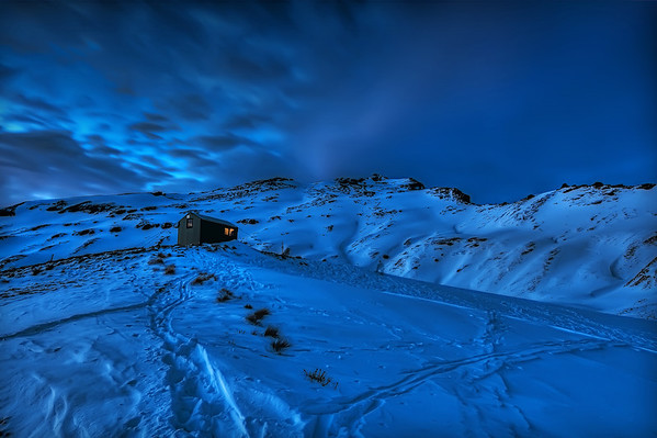 Black Peak Hut, New Zealand