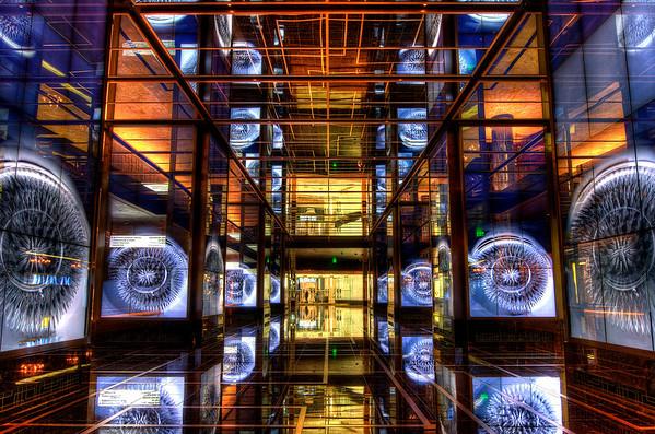 The Cosmopolitan Hotel foyer - Las Vegas